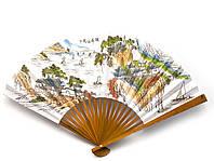 Веер бамбук+бумага (29 см)