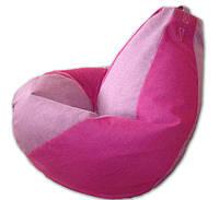 Бескаркасное кресло-мешок груша 120*90 см из микророгожки