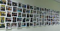 Огромная мультирамка -100 фото Белая