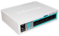 Маршрутизатор MIKROTIK RouterBOARD RB750GR3 hEX (880MHz/256Mb, 5х1000Мбит, PoE in)