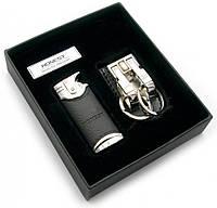 """Подарочный набор зажигалка с брелком HONEST"""""""