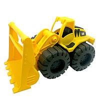 Игрушечные машинки и техника «Toy State» (82023) погрузчик строительная бригада CAT, 25см