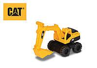 Игрушечные машинки и техника «Toy State» (82015) мини экскаватор CAT, 17 см