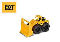 Игрушечные машинки и техника «Toy State» (82013) мини погрузчик CAT, 17 см