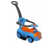 Машинка-каталка с толкателем Q-63 синяя Alexis-Babymix 19009