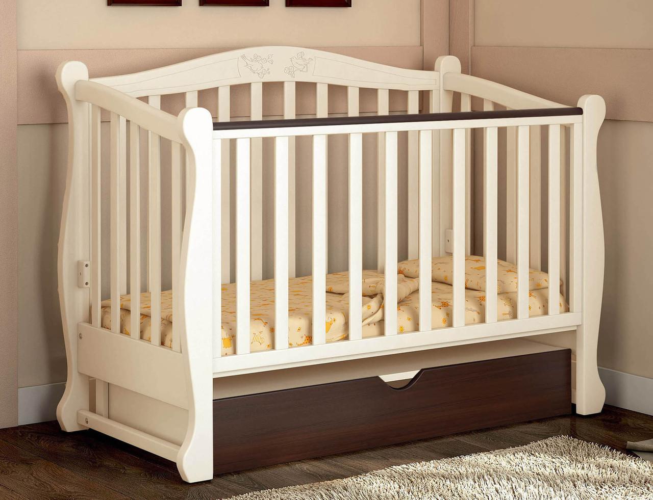 Детская кроватка Baby Dream Prestige 8 маятник комби