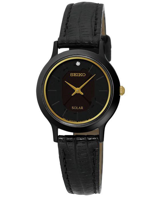 Часы женские Seiko Core Black Dial SE-SUP315