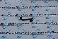 Шлейф для планшетов Apple iPad 4 коннектора зарядки с компонентами черный
