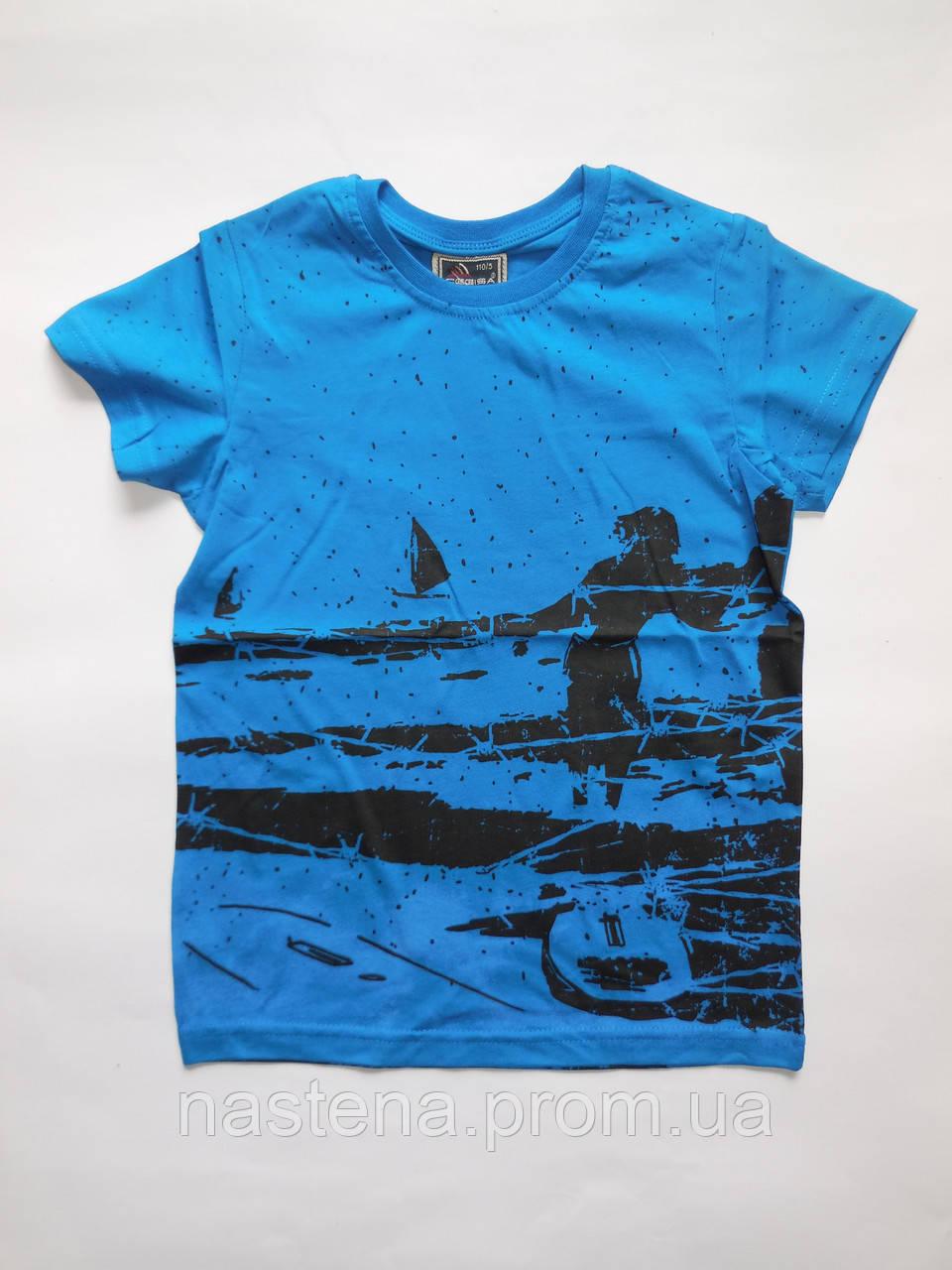 Детская летняя футболка для мальчиков CEGISA от 5 до 8 лет.
