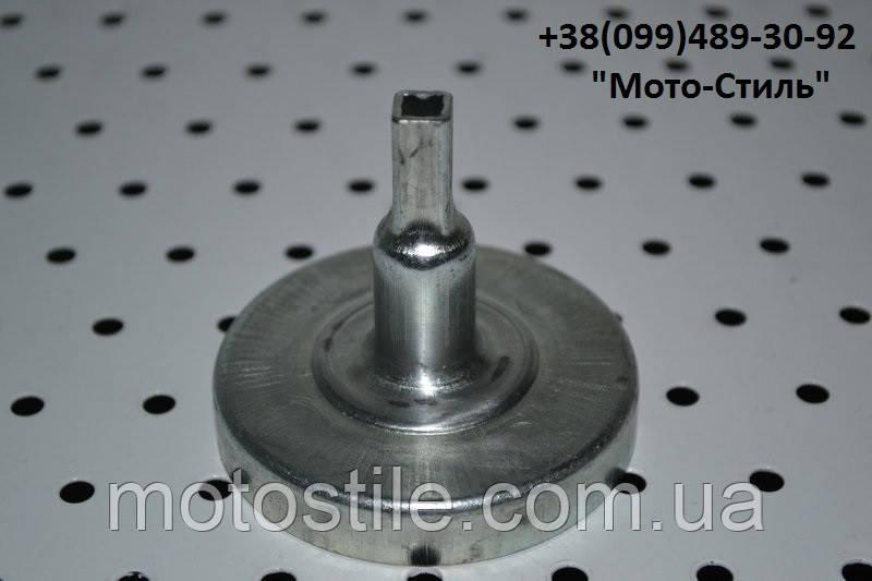 Тарелка сцепления (квадрат) для мотокос, бензокос SADKO GTR-320, Vorskla, SunGarden GB 25-GB 25A и т.д.