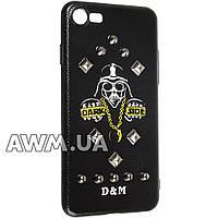 Чехол накладка D&M (DM-10) для Apple iPhone 7 черный