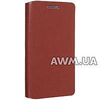 Чехол книжка для Lenovo K3 (A6000 / A6010) коричневый