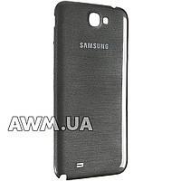 Задняя крышка на Samsung Galaxy N7100 черная