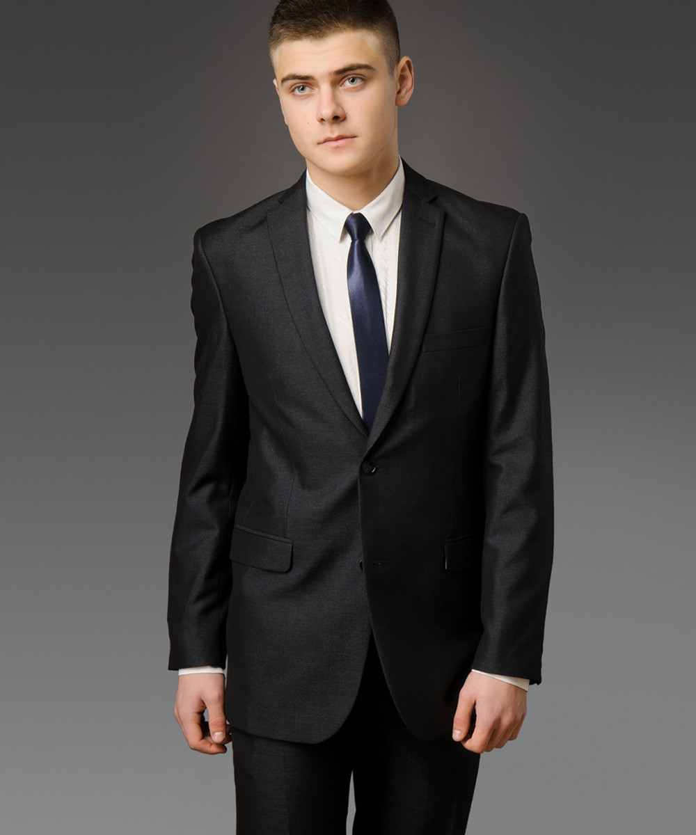 Мужской костюм West-Fashion модель А-26 темно-серый