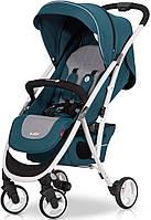 Детская прогулочная Коляска-трость VOLT Adriatic - Euro-Cart Польша - пятиточечный ремень, чехол, корзина