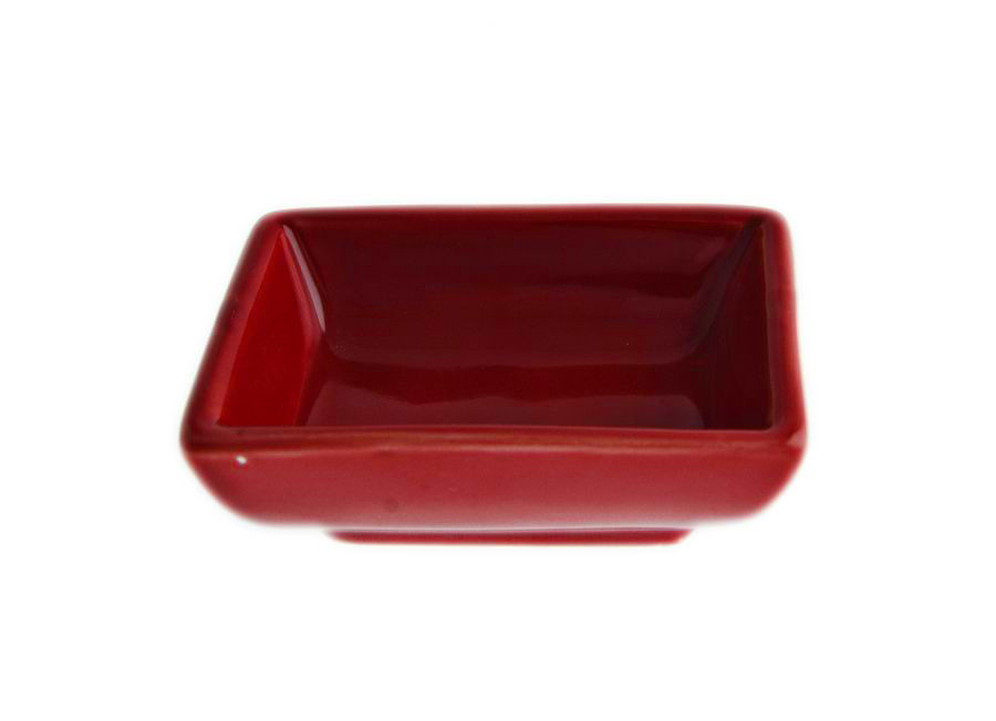 Блюдо для соевого соуса FoREST серия Fudo, цвет красный (ø7,5 см, 40 мл)