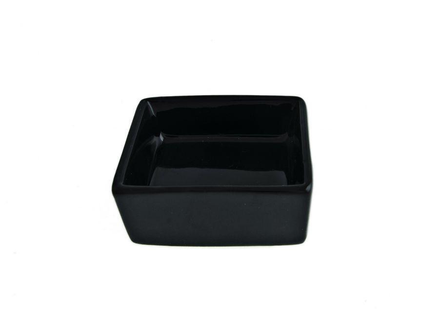 Салатник квадратный FoREST серия Fudo, цвет черный (6,5 см, 50 мл)