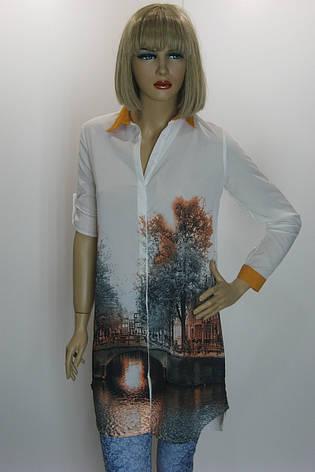 Рубашка-туника Saloon  Прага, фото 2