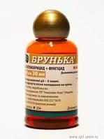 Брунька  препарат с фунгицидными и инсекто-акарицидными свойствами с длительным и стимулирующим  действием