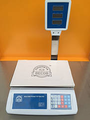Весы торговые электронные со стойкой Планета Весов ПВП-D1 40 кг