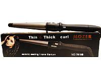 Конусная плойка 32 мм Mozer MZ 7010B-32: терморегулятор 80-210°C, вращающийся шнур, поставка