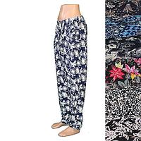 Женские летние брюки БАТАЛ A411s (р-р 52-54)(в уп.разные расцветки). Оптом со склада в Одессе.