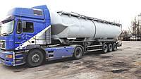 Перевозка сыпучих грузов в автомобильных цистернах