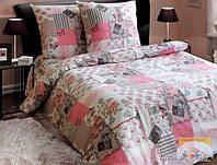 Красивое постельное белье 100 % хлопок полуторное