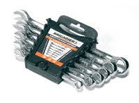 Набор ключей комбинированых Бригадир Professional 8шт