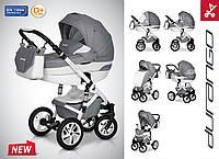 Детская Универсальная Коляска-трансформер 2 в 1 DURANGO - Euro-Cart Польша - люлька + прогулочный блок