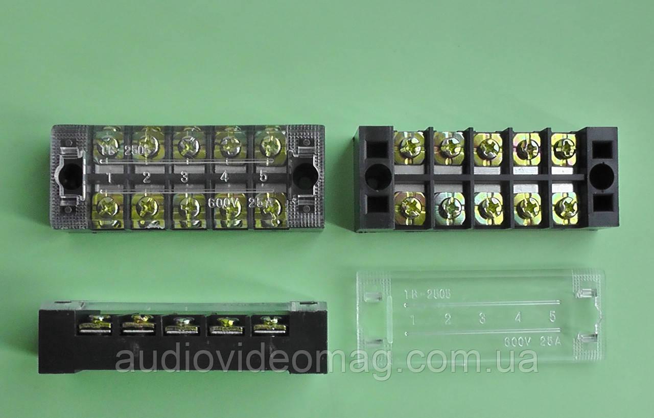 Контактная группа ТВ-2505 для соединения проводов