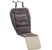 Двухсторонний мягкий цветной матрасик Soft Dyna  для всех колясок - Emmaljunga (Швеция) (все расцветки) Leatherette Quilt
