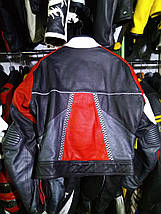Мотокуртка бу кожа женская Race Line, фото 3