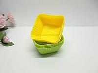 """Набор силиконовых форм для кексов """"Квадрат"""""""