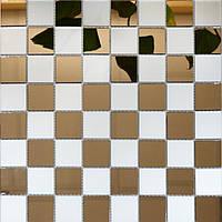 Мозаика зеркальная Vivacer BK-4/ZM-04 бронза+сатин