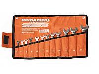 Набор ключей Бригадир Professional CR-V 15 шт