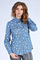 Джинсовая женская рубашка  (Д.И.В.)