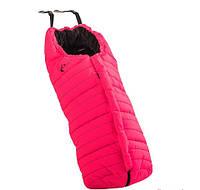 Универсальный конверт для прогулочной коляски Polar Competition Grey - Emmaljunga (Швеция) Neon Pink