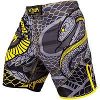 Шорты Venum Snaker Fightshorts Black Yellow xl