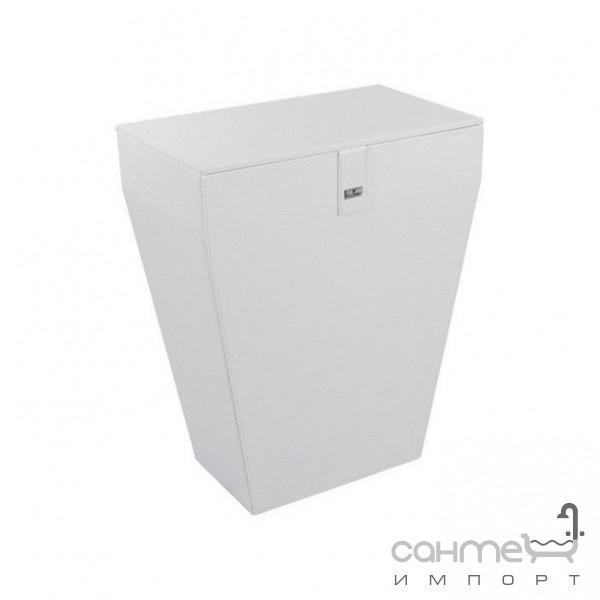 Аксессуары для ванной комнаты Colombo Design Корзина для белья, белая Colombo Black&White B9201