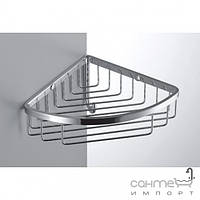 Аксессуары для ванной комнаты Colombo Design Полочка-решётка угловая с крючком Colombo Complementi B9616