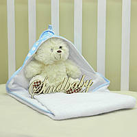 Детское махровое полотенце с уголком - 05
