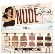 Палитра теней для век The Balm Nude Dude