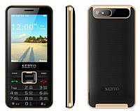 Телефон Servo V8100! 4 sim! Черный!