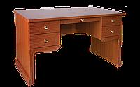 Стол компьютерный, письменный, с двумя выдвижными ящиками и полочкой под клавиатуру разм 75х60х120см Екатерина