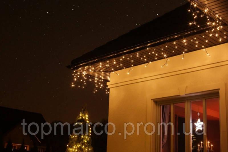 Новогодняя экономная LED гирлянда, 500 ламп, 19 м!