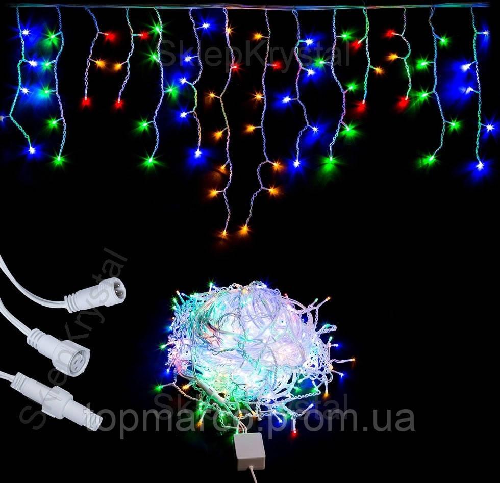 Новорічна гирлянда 300 LED Сосульки 14м