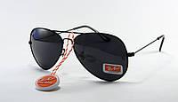 Cолнцезащитные очки Ray Ban Aviator поляризованные черные