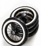 Колеса для коляски - Emmaljunga - Все варианты NXT90, Ecco Cit,  AIR Scooter,  Super Nitro/Duo (Швеция)  AIR whitewall City Cross (4 шт)
