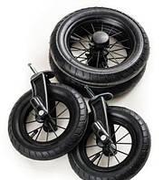 Колеса для коляски - Emmaljunga - Все варианты NXT90, Ecco Cit,  AIR Scooter,  Super Nitro/Duo (Швеция)  AIR whitewall Super Nitro/Duo S (4 шт )